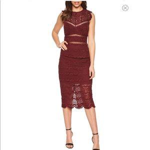 Bardot Mariano Lace Sheath Dress size S